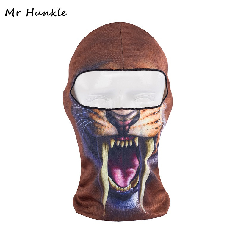 Mr Hunkle New Design 3D Skull Cap Dog Animal out door activities Bicycle  Motorcycle Masks Hood Hat Veil Balaclava UV Full Face