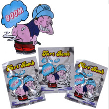 1PC Novelty Fart Bomb Bags Stink Bomb Smelly Funny Gags Practical Jokes 2016