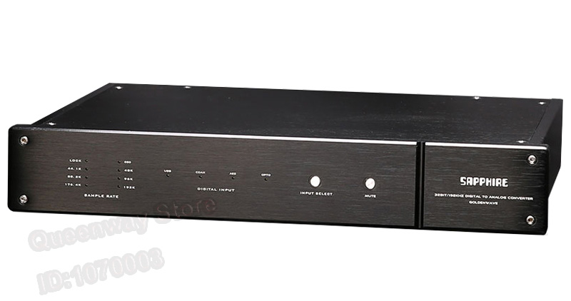 GoldenWave Sapphire II Full Balanced Decoder Audio Decoder Pure Decoder HIFI DAC 32BIT/192KHZ Audio Decoder