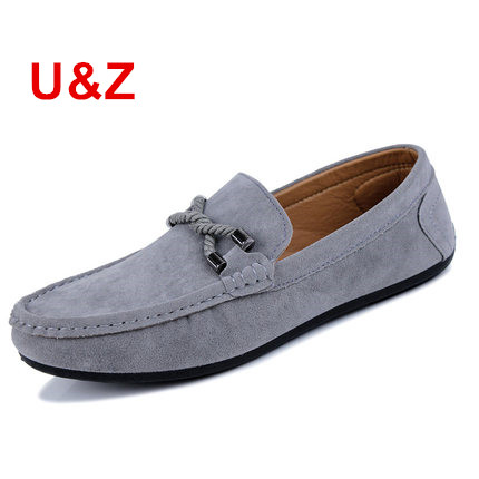Genuine Suede Leather Men's slip on Loafers Black/Navy/Grey,Casual male driving Shoes hot Moccasin men boat shoes tassel Loafers tassel casual loafers men shoes genuine leather flat anti skid driving moccasin slip on spring new black white sperry shoes male