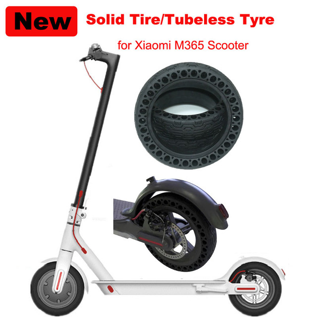XIAOMI Electric Scooter Soid Tire Inflation Free Tubeless Tire Honeycomb Tyre 8*1/2x2 Tyre Shock Absoption for Xiaomi Scooter