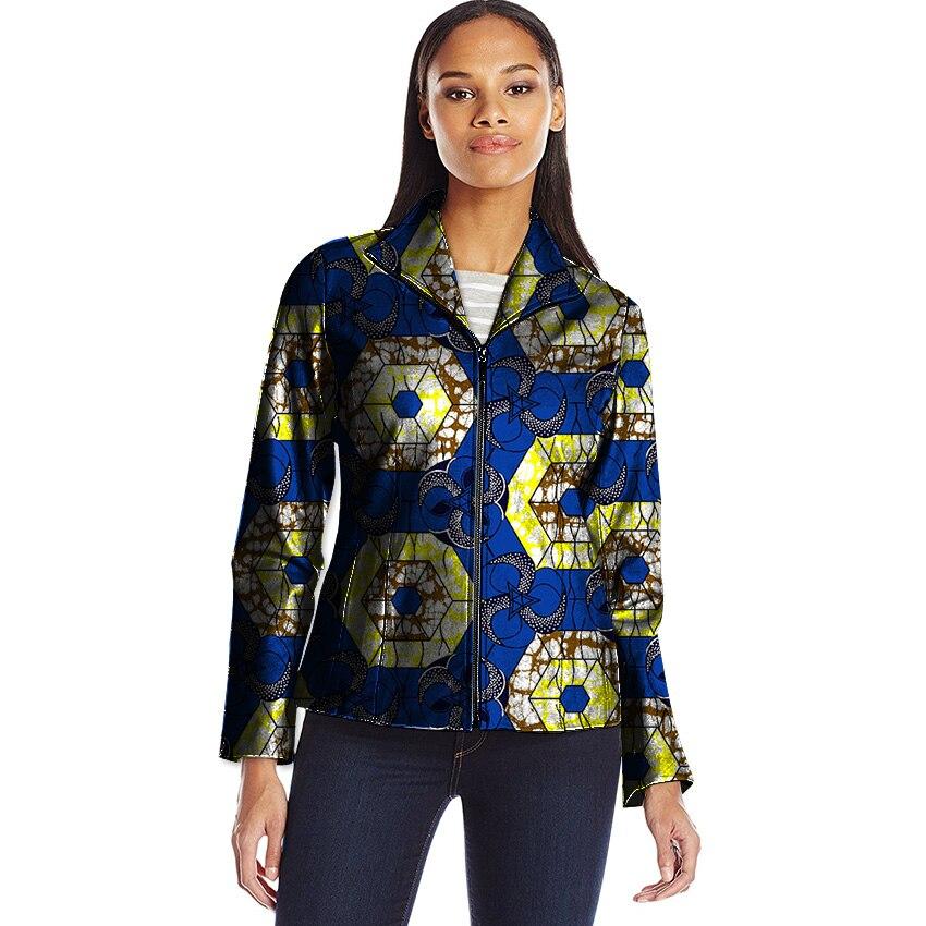 Africa Style Women Coats Jacket African Coat Lady Dashiki Coats Print Batik Costume Africa Clothing For Women Customized
