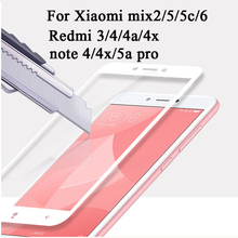 protective glass for xiaomi redmi note 4 xiami mix 2 6 5 5c remi 3 4x 4a 5a pro tempered glas screen Protection film