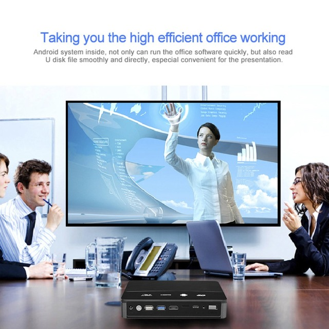 Special Offers Black RD601 Smart Builtin Battery Andorid4.4 WIFI LED MINI DLP Projector 3D Beamer Miracast Bluetooth Home Cinema Airplay US