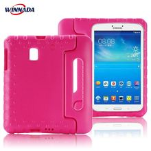 Case for Samsung Galaxy TAB A 8.0 inch 2017 T380 T385 hand-held full body Kids Children Safe EVA tablet cover light weight kids case super protection cover handle stand case for kids children for samsung galaxy tab a 7 inch tablet