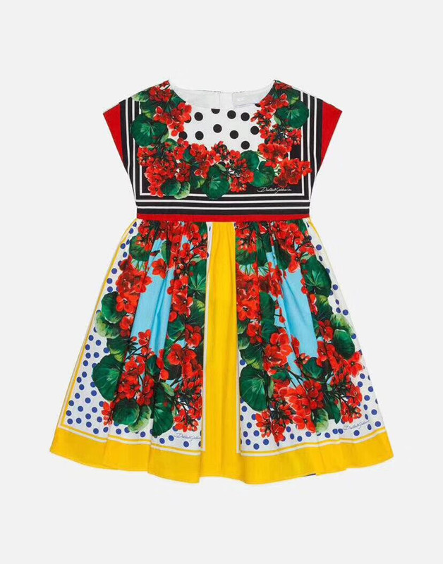 High quality Baby red Dress For Girls Formal Wedding Party Dresses Kids Princess Christmas Dress costume
