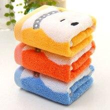 33*33 см Милая мультяшная собачка Хлопок Дети маленький квадратный носовой платок полотенце с шнурком FS0589