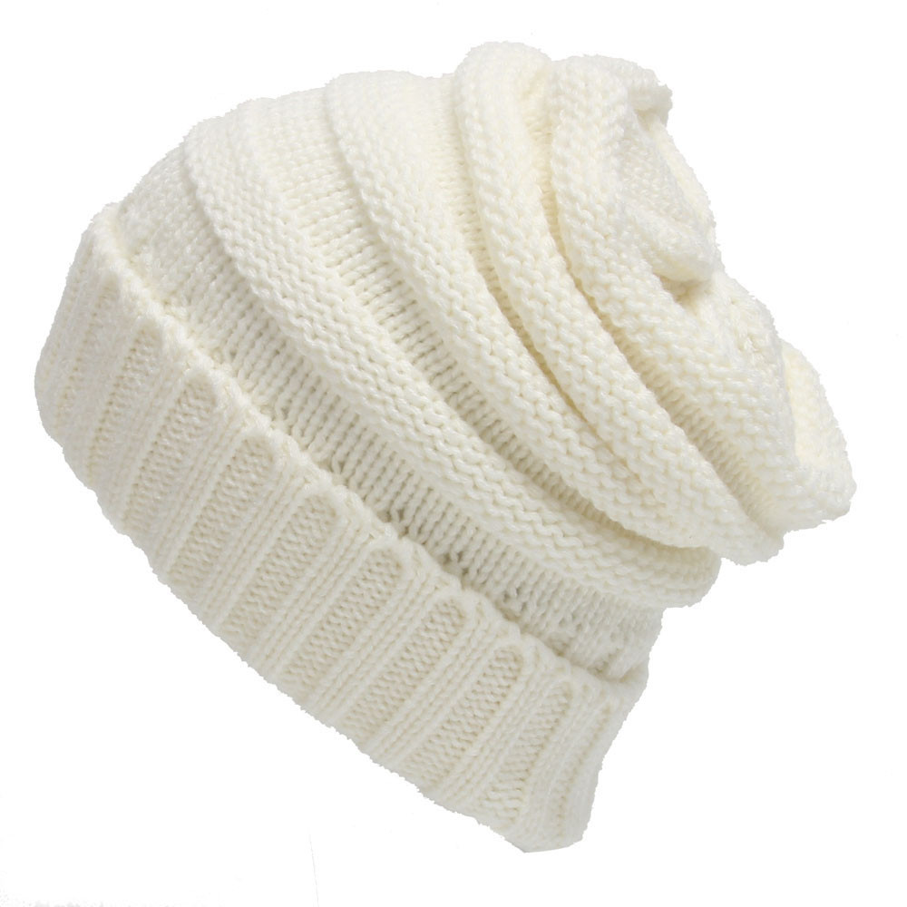 Womens Fall Fashion Hats Twist Pattern Beanies Winter Gorros for ...
