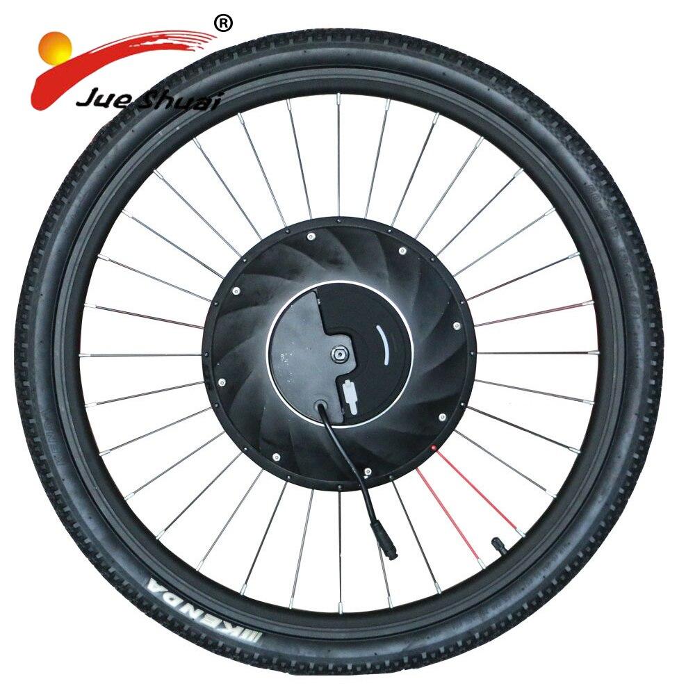 IMortor moteur électrique roue vélo électrique Kit de Conversion avec batterie tout en un Kit eélectrique vélo moteur Ebike moteur roue