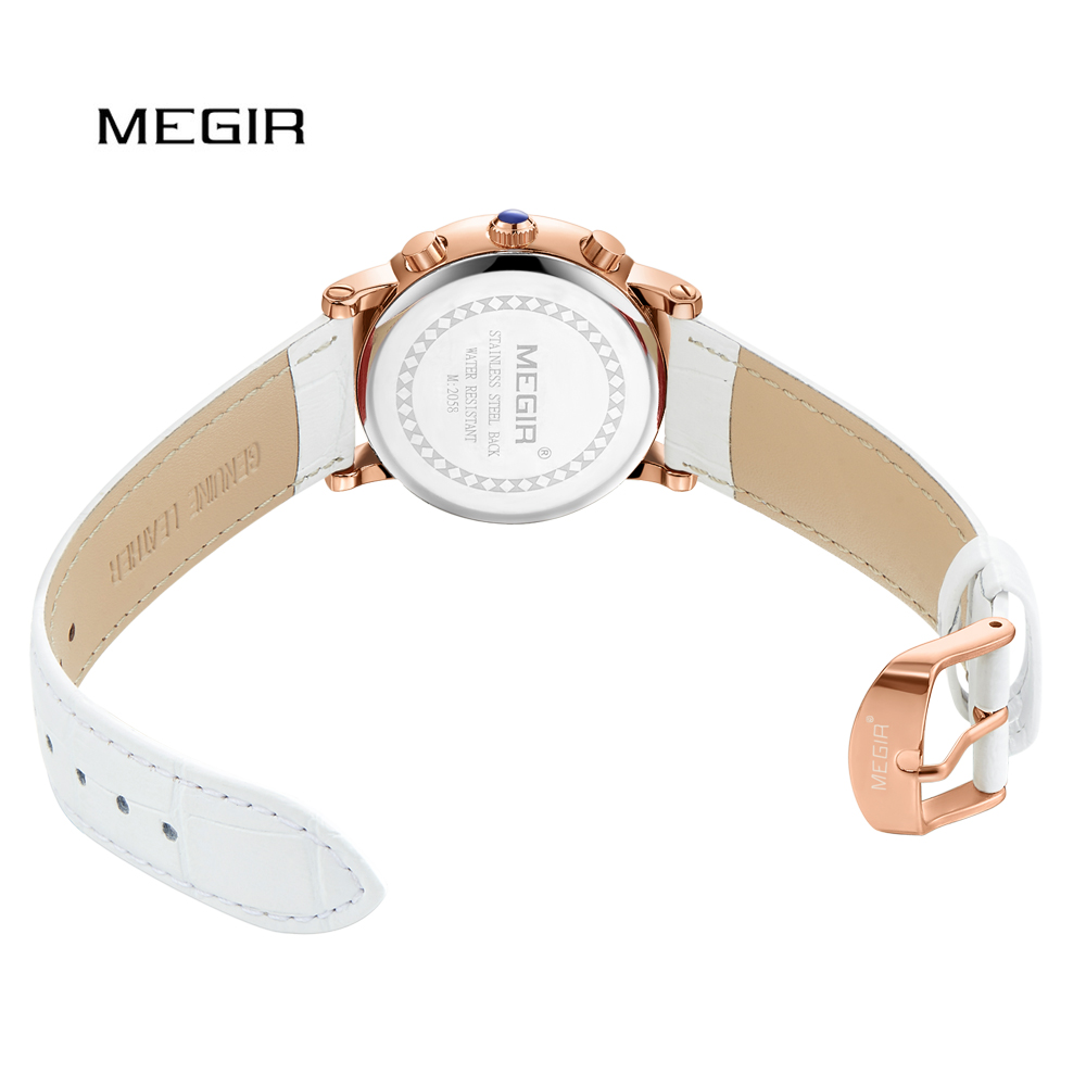 a7f7f0442de0 Reloj de pulsera para mujer de moda MEGIR