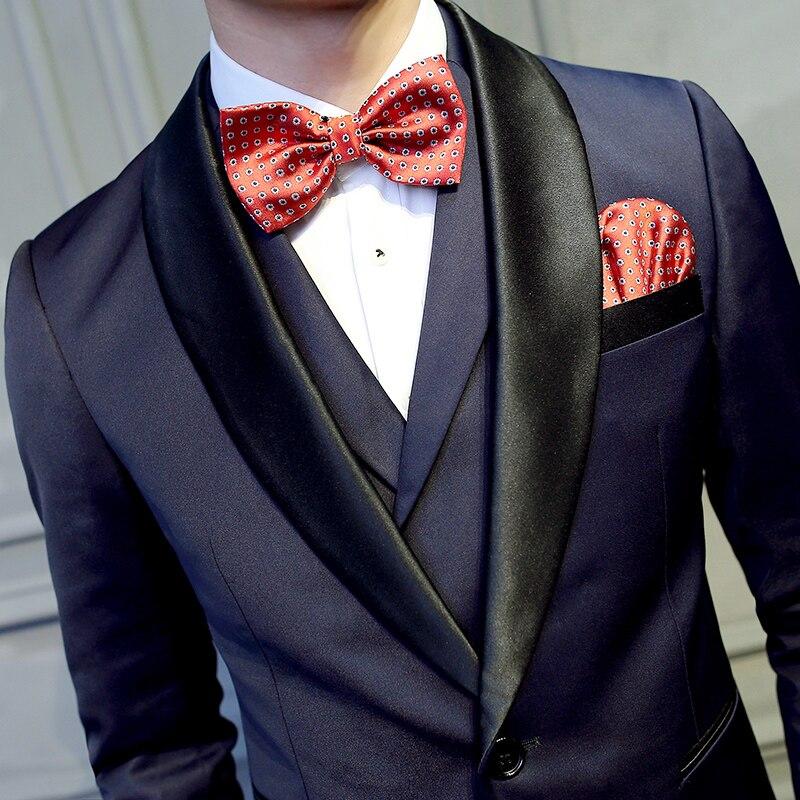 2018 Latest Coat Pant Designs Tuxedo Mens Prom Suits 2 Pieces