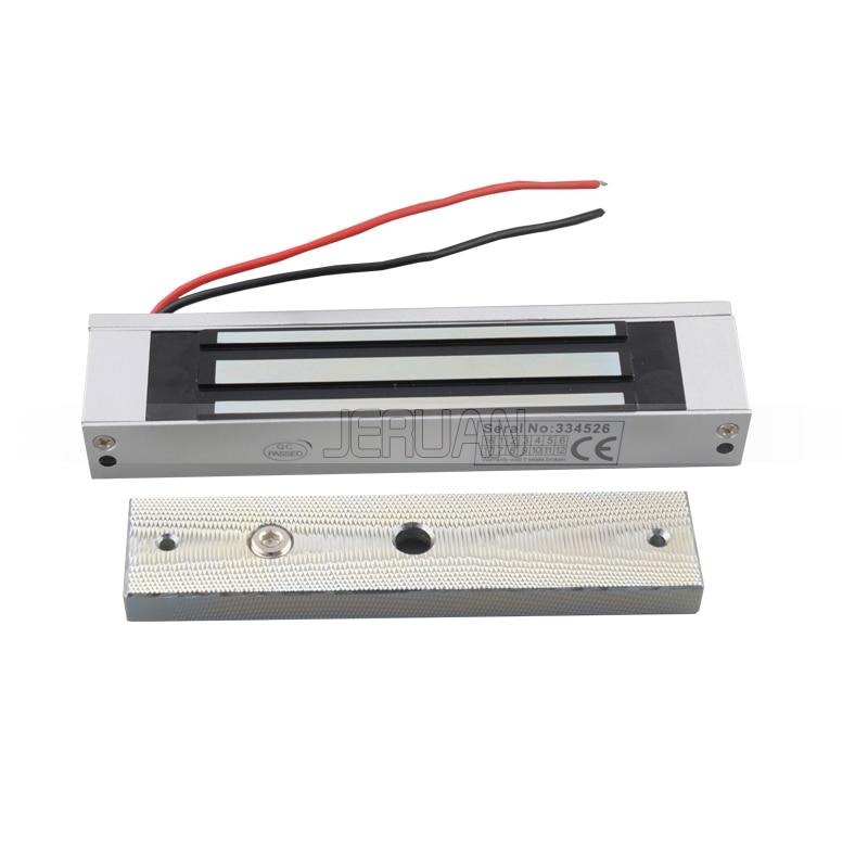 Livraison gratuite contrôle d'accès 180 KG serrure magnétique pour vidéo porte téléphone sonnette sécurité à la maison en Stock