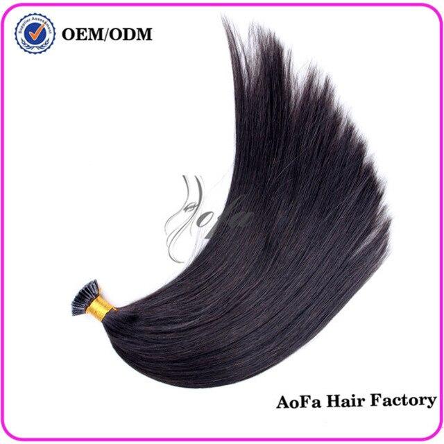 Human Hair Fusion Extensions London Natural Black Natural Hair