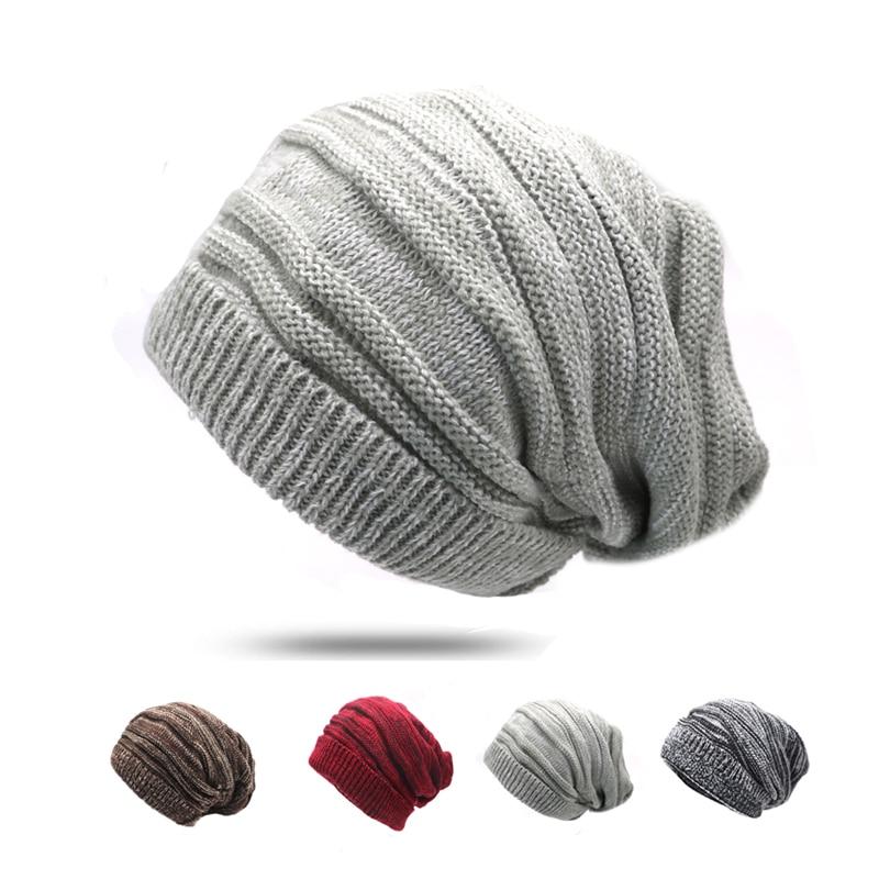 4 unids casual skullies gorros sombreros para hombres mujeres ...