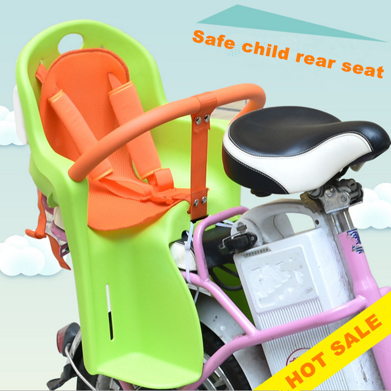 Hot Sale Children Safe Protect Seat for Electric Bike Comfort And Safety Widening Children's Bicycle Chair hot sale hot sale car seat belts certificate of design patent seat belt for pregnant women care belly belt drive maternity saf