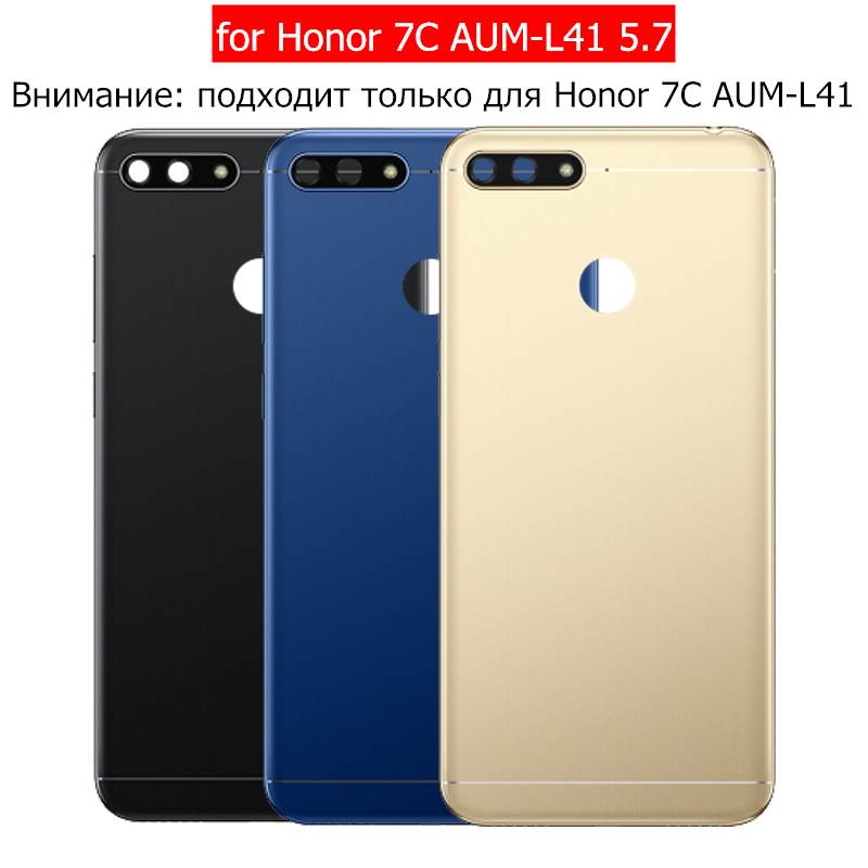 Camera Battery Replace Back-Cover Glass-Lens Housing-Door Huawei Repair-Spare-Parts Honor