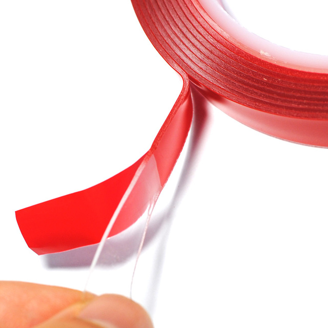 1CM Width 3M Length Car Sticker Double Foam Faced Adhesive Tape Auto Glue Sticker Multi-functional Car Accessories Car-styling