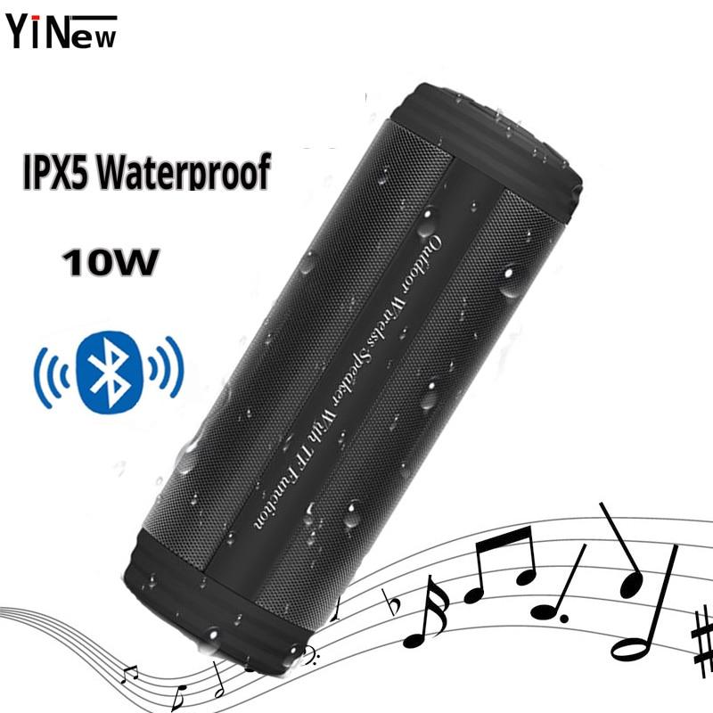 Wireless Bluetooth Speaker Music Mini Column Stereo Subwoofer Loudspeaker Waterproof Sound Box Protable Speaker FM Radio Boombox