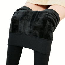 Free Shipping font b Women b font Leggings inside Thicken Fur Warm Leggings font b womens