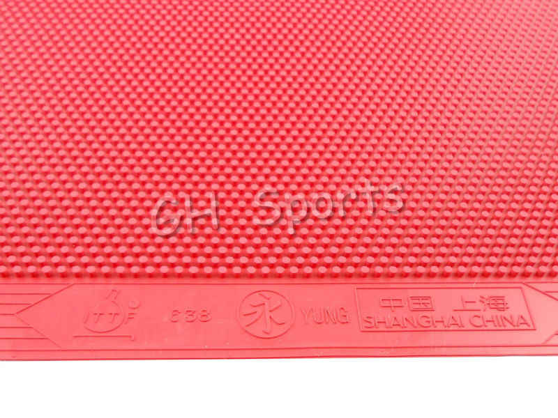 Yung 638 Long Pips-Out Table Tennis (PingPong) Rubber Without Sponge (Topsheet, OX), NO ITTF