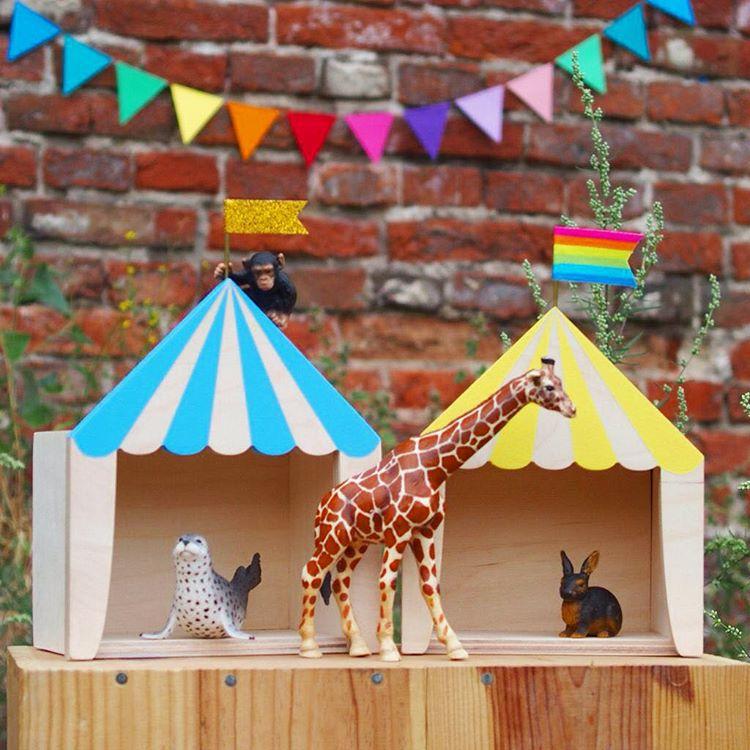 Favourite Scandinavian Nursery Kids Room Decor Items: Nordic Nursery Kids Room Decoration Wooden Big House