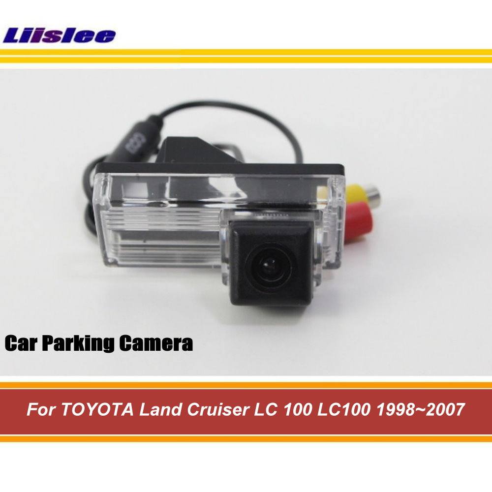 Liislee Camera For <font><b>TOYOTA</b></font> Land Cruiser <font><b>LC</b></font> <font><b>100</b></font> LC100 1998~2007 Car Reverse Rear View Camera / Reversing Parking Camera AUTO CAM image