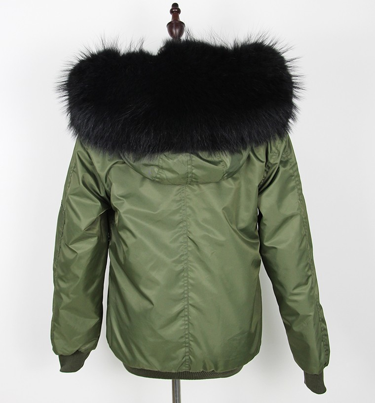 natural bomber warm raccoon 8
