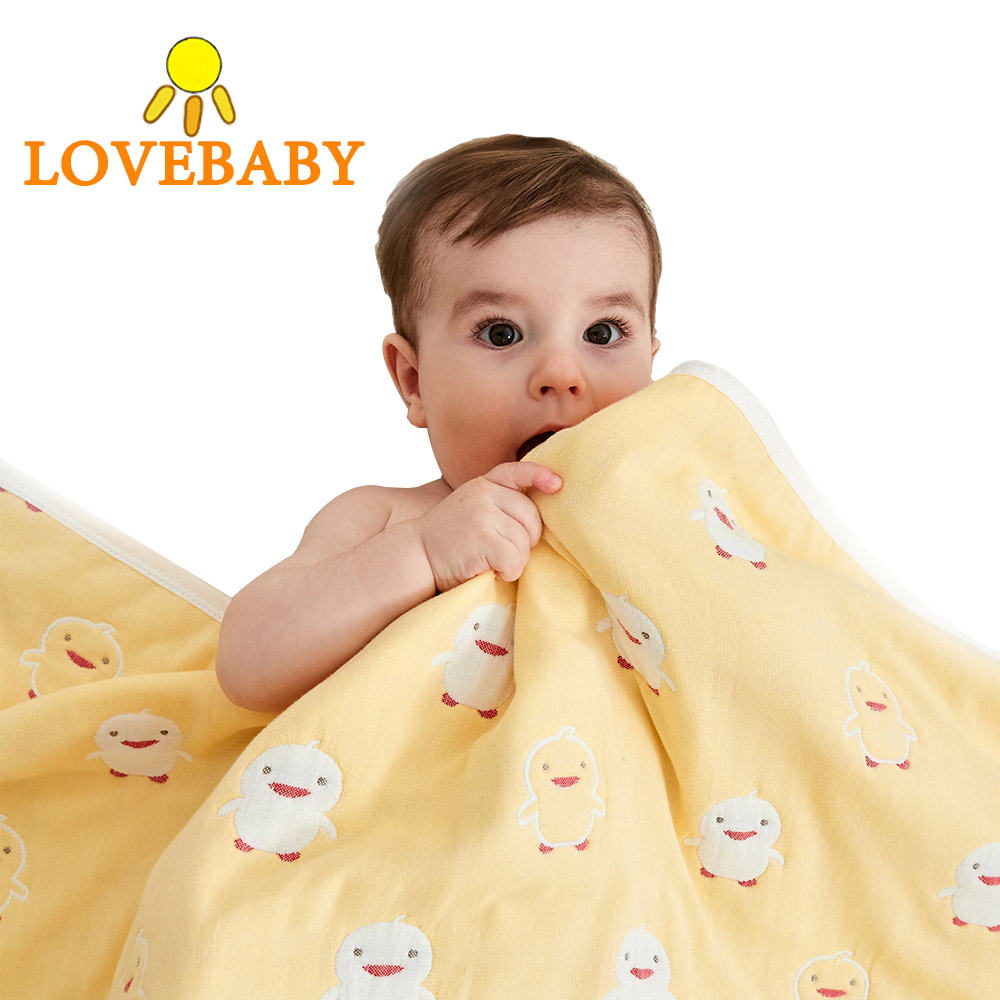 Baby Blanket 100 Cotton Bamboo Super Soft Baby Swaddle For Newborn Lovely Wraps Baby Bath Towel Bed Sheet Stroller Cover in Blanket Swaddling from Mother Kids