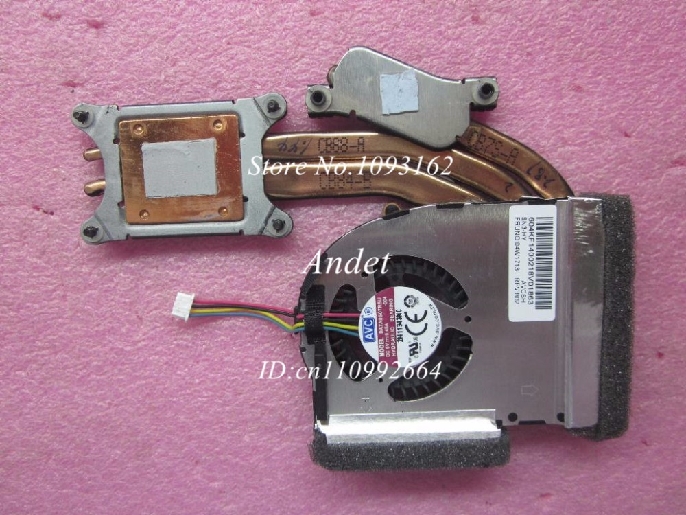 New Oirginal Lenovo Thinkpad T420S T420Si Heatsink CPU Cooler Cooling Fan Radiator Discrete 04W1713