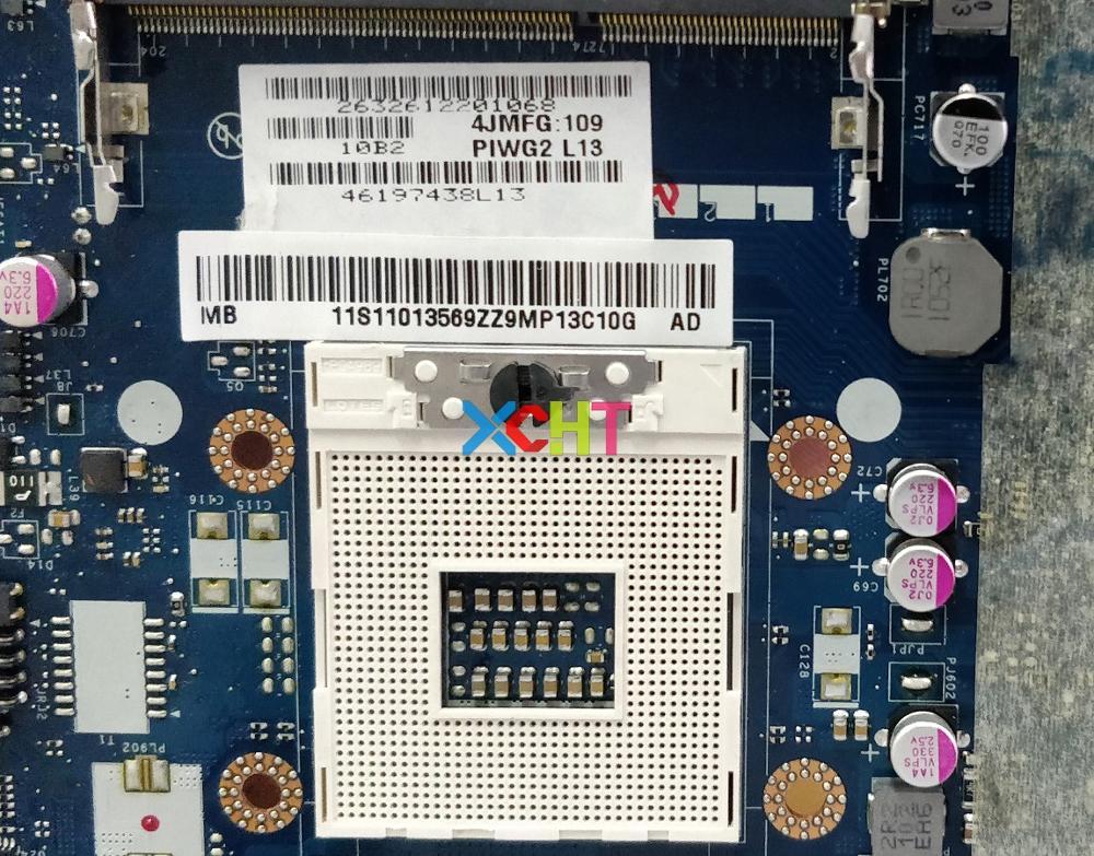 for Lenovo G570 PIWG2 LA-6753P 11S11013569 11013569 HM65 PGA989 Laptop Motherboard Mainboard Testedfor Lenovo G570 PIWG2 LA-6753P 11S11013569 11013569 HM65 PGA989 Laptop Motherboard Mainboard Tested