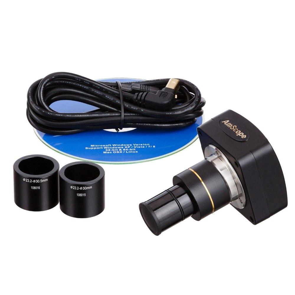 AmScope Ancora Foto e Video Macchina Fotografica del Microscopio USB2.0 MU035AmScope Ancora Foto e Video Macchina Fotografica del Microscopio USB2.0 MU035