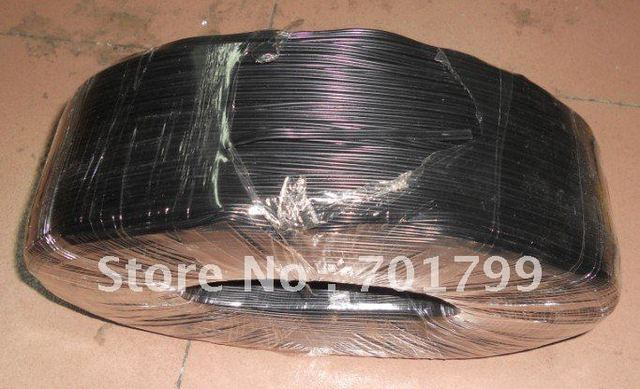 3pin black cable 20AWG for led module use;100m a roll