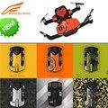 Bolso wingsland s6 rc zangão selfie zangão wi-fi fpv com 4 K UHD Câmera FPV Quadcopter Com Holofote arma BB Extra bateria