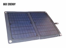 GGX ENERGY 20 Watt Solar Panel with Solar Controller 12V Car Charger Solar Battery Phone Charger