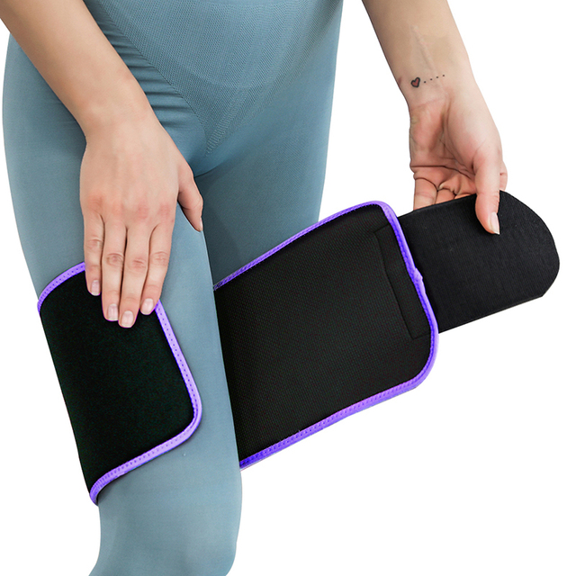 Waist / Arms / Thigh Belt Rubber Adjustable Sweating Slimming Wrap Brace Body Building Fitness Sportswear Accessories 4