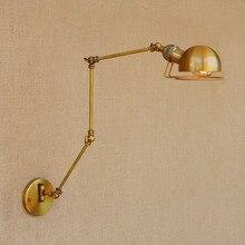 Bras Long pivotant Applique rétro Loft Style Vintage industriel luminaires Wandlamp Edison appliques Applique lumière Pared