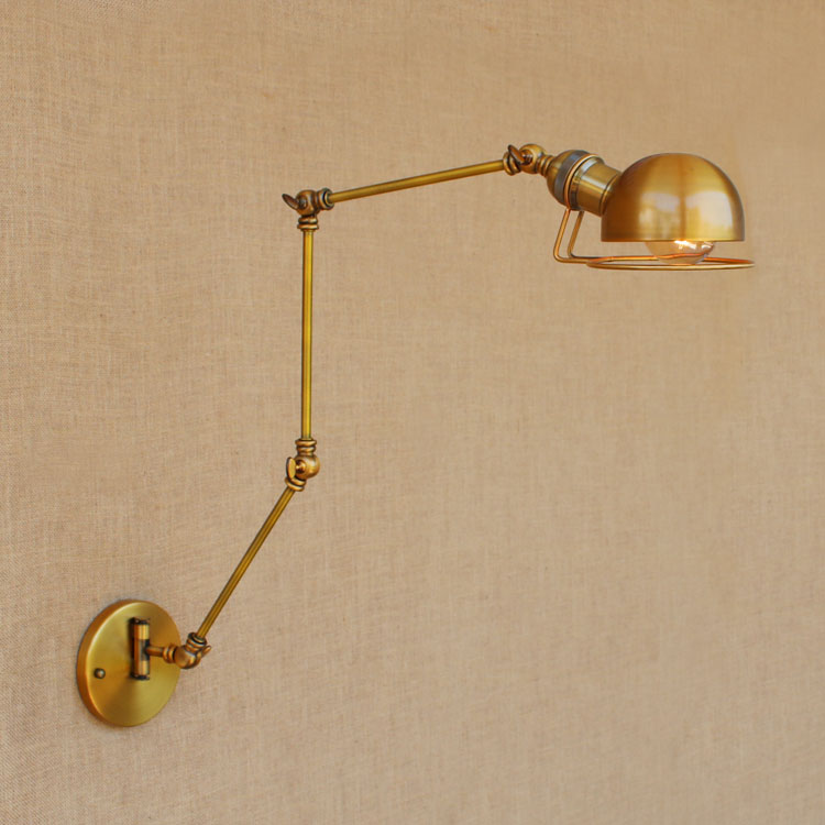 Swing Long Arm Wall Lamp Retro Loft Style Vintage Industrial Lighting Fixtures Wandlamp Edison Wall Sconces Applique Light ParedSwing Long Arm Wall Lamp Retro Loft Style Vintage Industrial Lighting Fixtures Wandlamp Edison Wall Sconces Applique Light Pared