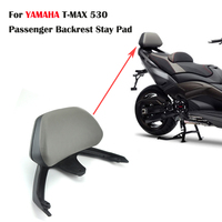 KEMiMOTO Motorcycle Accessories Backrest For YAMAHA T MAX TMAX 530 TMAX530 2012 2015 T MAX 530 Passenger Backrest Stay 2012 2016