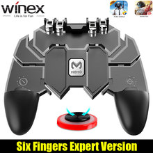 Winex 3 in 1 Combo For PUBG Controller smartphone For Mobile Phone gampad Androi