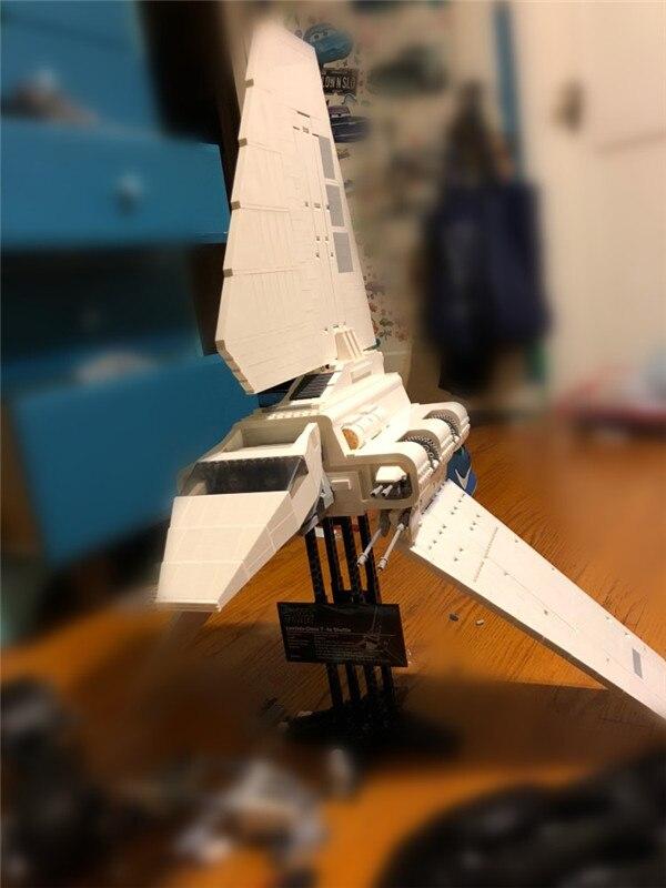 Galleria fotografica DIY 3D Modello 2503 Pz Spazio Stella Era Lepins Shuttle Modello Kit di Costruzione di Blocchi di Mattoni Compatibile Giocattolo Dei Bambini Del Regalo