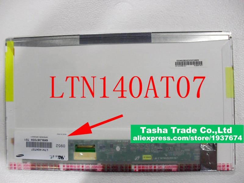 ФОТО LTN140AT07 14.0 Laptop Screen Original HD 1366*768 LVDS 40pin