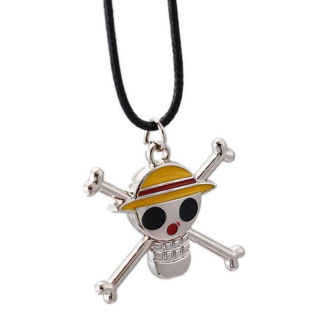 One Piece Choker Necklace Roronoa Zoro Edward Luffy Pendant