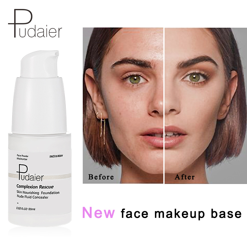 Pudaier VIP link Brand Foundation Cream Brighten skin Makeup Base Tonal Liquid Foundation Face Temperature Color Changing