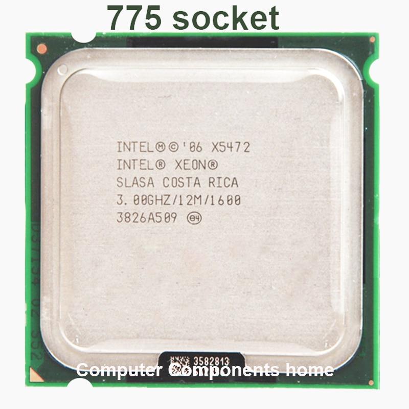 INTEL XEON X5472 quad core 4 core 3.0MHZ LeveL2 12M 1600 עבודה על 775 האם לא צריך adaperts
