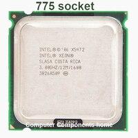 Intel xeon x5472 quad core 4 núcleo 3.0 mhz level2 12 m 1600 trabalho em 775 placa-mãe sem necessidade de adaptadores