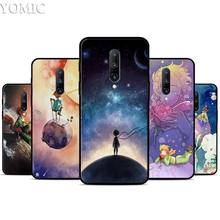 Little Prince Watercolor Art Silicone Case for Oneplus 7 7Pro 5T 6 6T Black Soft Case for Oneplus 7 7 Pro TPU Phone Cover