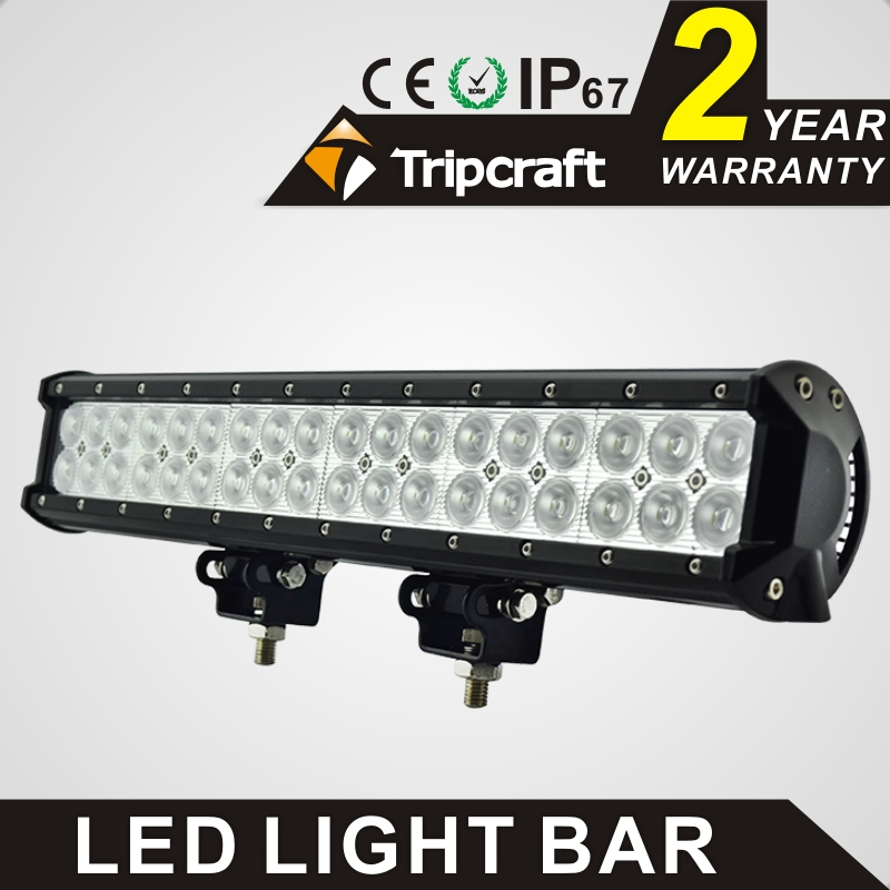TRIPCRAFT 108w led work light bar 6500k spot flood combo beam car light for offroad 4x4 truck SUV ATV 4WD driving lamp fog lamp tripcraft 126w led work light bar 20inch spot flood combo beam car light for offroad 4x4 truck suv atv 4wd driving lamp fog lamp