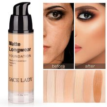 Matte Long Wear Liquid Foundation Natura Color Changing Coverage  Make Up Foundation Perfect Beauty Invisible Before Foundation цена в Москве и Питере