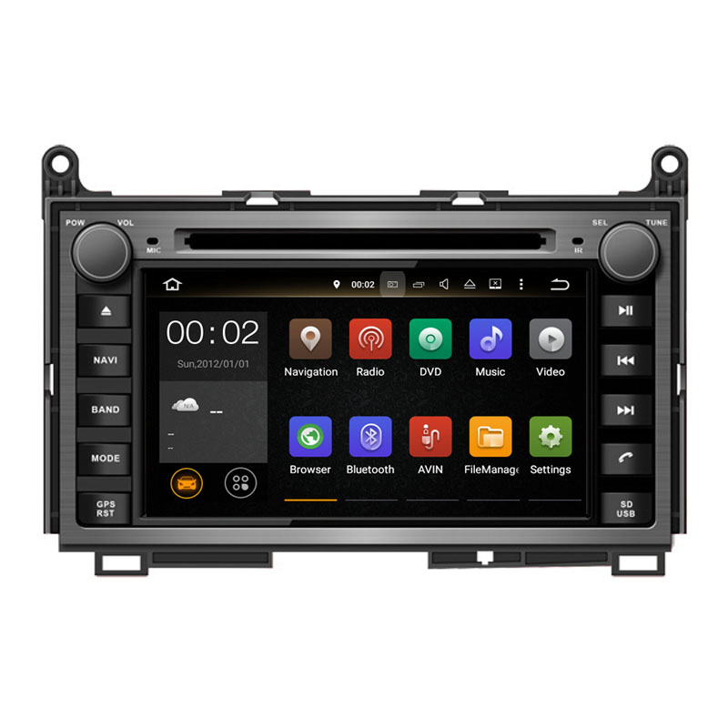 Runningnav Android 7 1 RAM 2G Fit TOYOTA Venza 2008 Car DVD Player Navigation GPS font