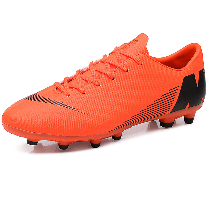 7c726c247fd High Quality Long Spikes Outdoor Lawn Men Soccer Shoes Cleats Trainers Male Football  Shoes Rubber Men